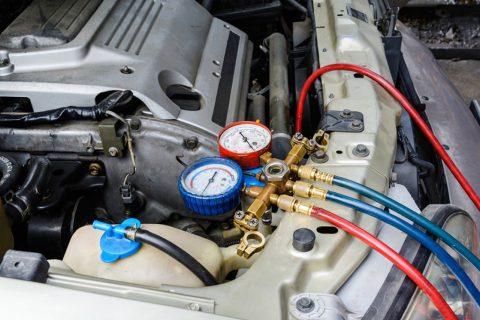 Truck, bus and motorhome AC gas Repair in Melbourne
